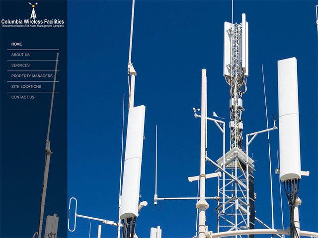 Telecommunications Website Design