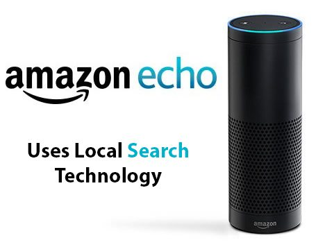 News About Local Search – Amazon Echo's New Offering