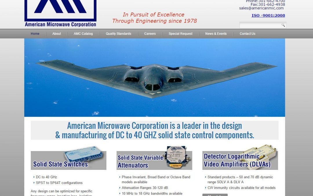 Electronic Manufacturer Website