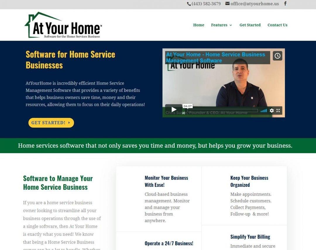 Softwar Company website design