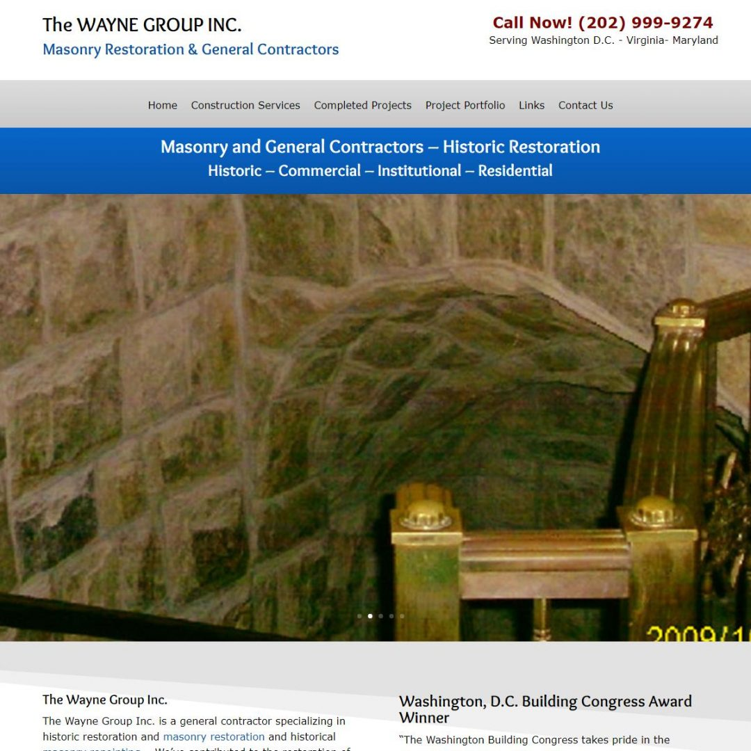 Masonry Restoration, Washington, DC, Virginia & Maryland