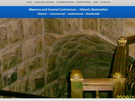 General Contractors Website Design