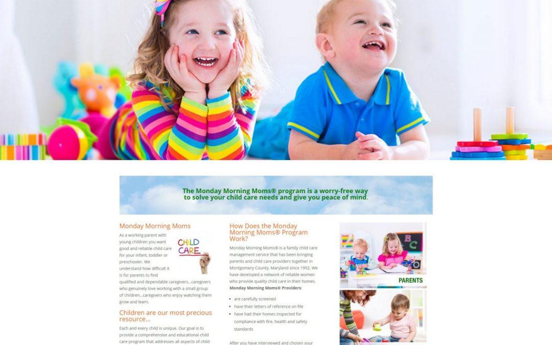 Child Care Provider Website