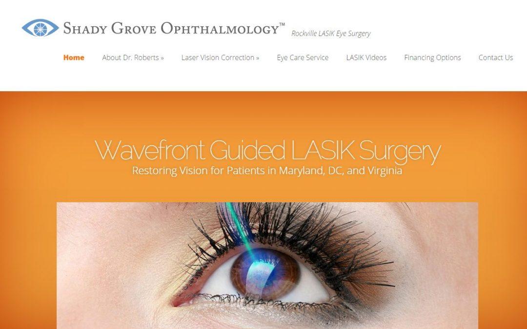 LASIK Surgeon Website Design