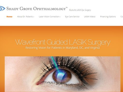 LASIK Surgeon Website Design