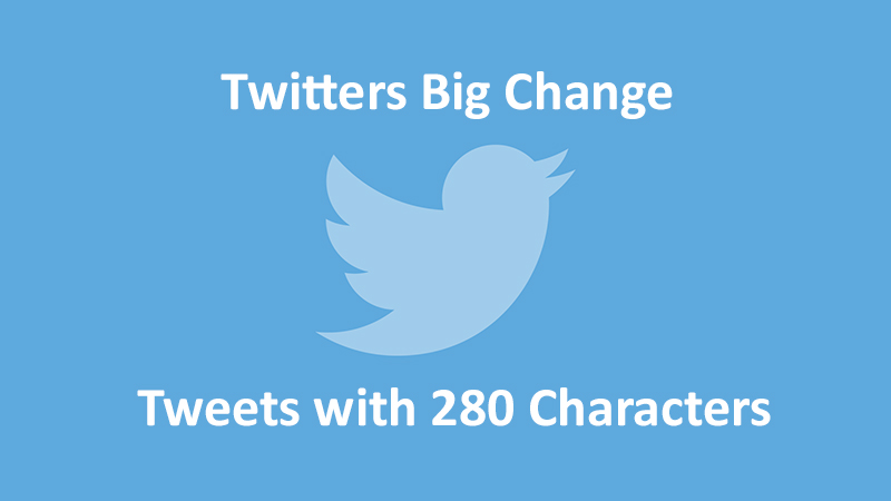 Twitter now supporting 280 Characters!