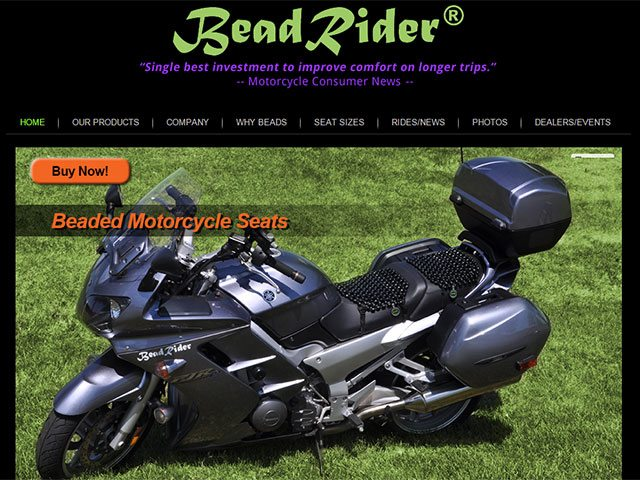 Motorcycle Product Website