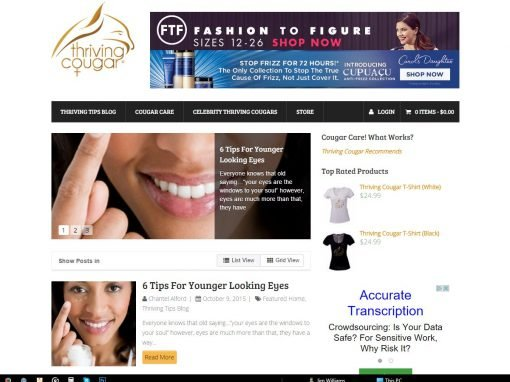 Fashion Blog & eCommerce Website
