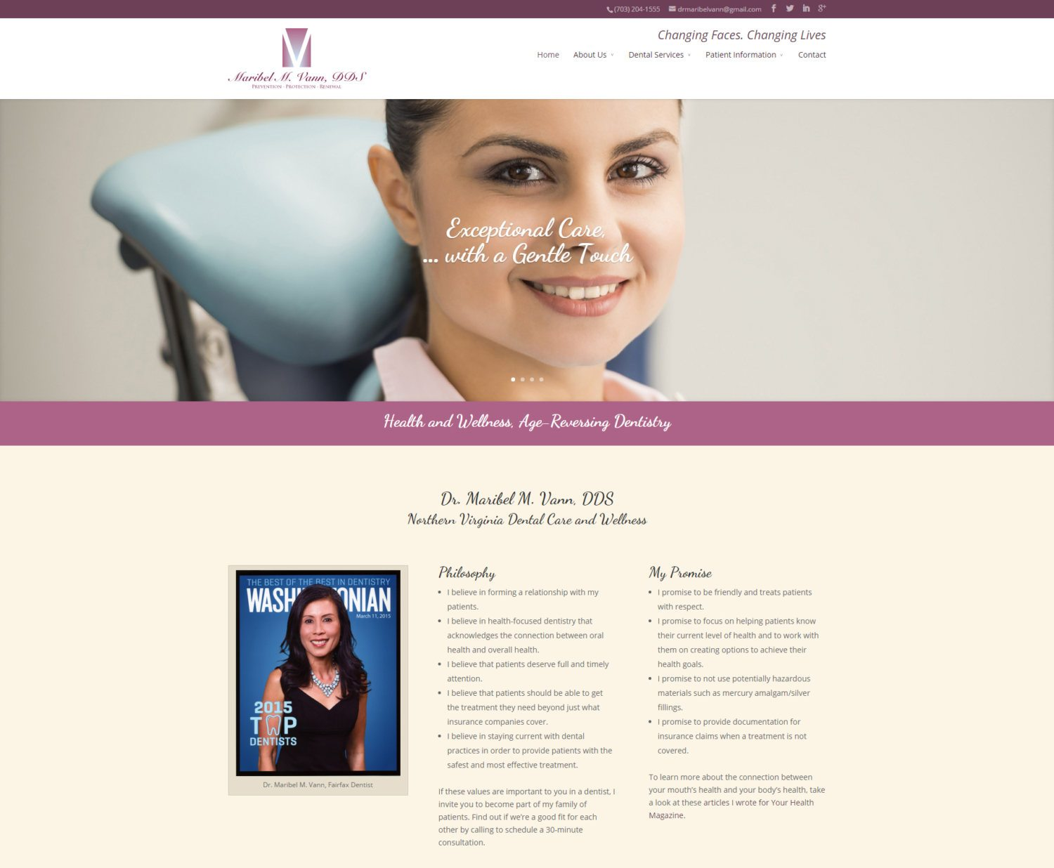 Responsive Dental Website